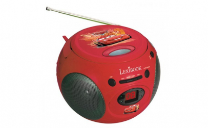 BOOMBOX CU CD DISNEY CARS