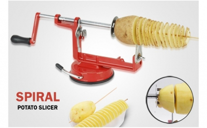 Aparat de taiat cartofi in spirala