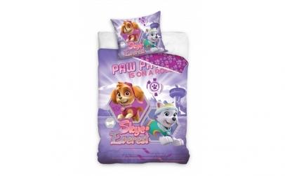 Lenjerie de pat pentru copii Paw Patrol