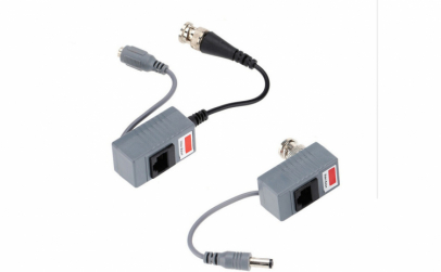 Video Balun 2454, conectare prin RJ45