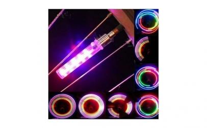 2 LED-uri multicolore pentru bicicleta