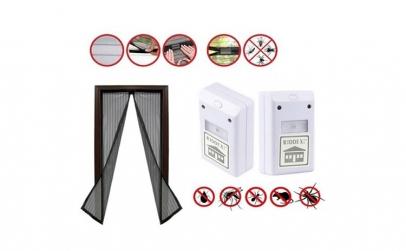 2 aparate anti rozatoare + Plasa insecte