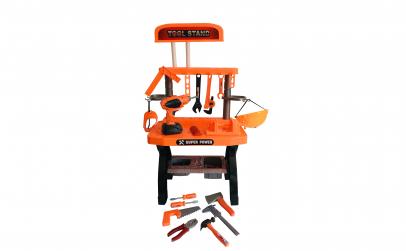 Banc de lucru Tools cu scule, 74 piese