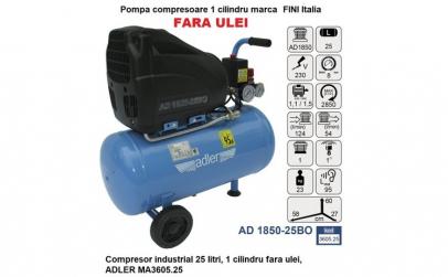 Compresor industrial 25 litri, 1