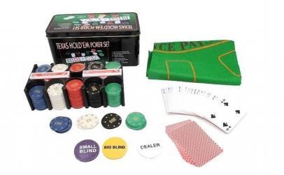 Set Poker Texas Hold'em 200, jetoane