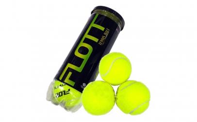 Set 3 mingi de tenis FLOTT