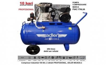 Compresor industrial 100 litri, 2