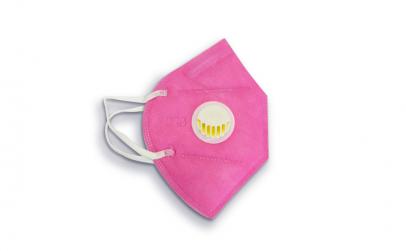 Masca protectie KN95 Valva Roz