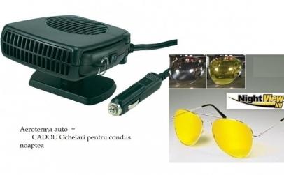Aeroterma auto + ochelari