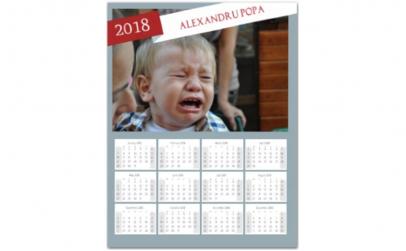 Calendar magnetic personalizat