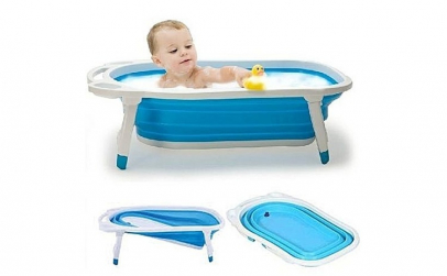 Cadita de baie pliabila pentru copii,