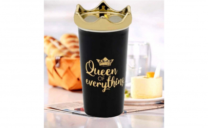 "Pahar "" Queen of everything"" 450 ml"
