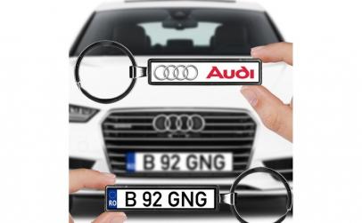Breloc numar auto Audi