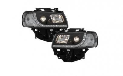 Set 2 faruri LED DRL compatibil cu VW T4