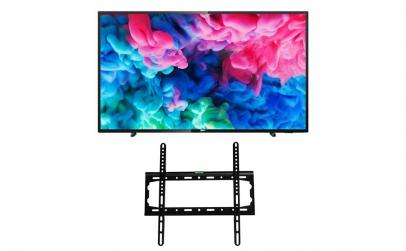 LED Smart Philips 126 cm 4K cu suport TV