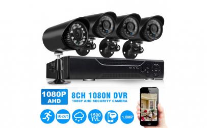 Sistem de supraveghere video 4 camere