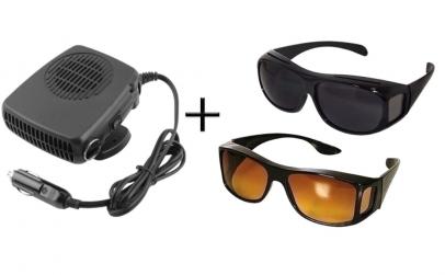 Aeroterma auto + Cadou set ochelari