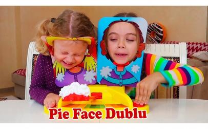 Joc dublu Pie Face