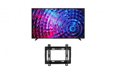 LED Philips, 108 cm Full HD cu suport TV