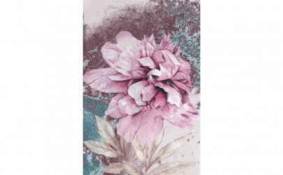 Tablou Canvas Bujor, 75 x 95 cm