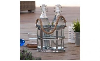 Sticle cu suport vintage