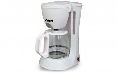 Cafetiera Zass ZCM 02 White, 600W,