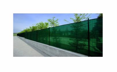 Plasa verde pentru gard 1 x 9 m