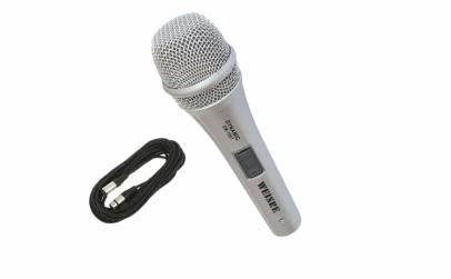 Microfon profesional cu fir 4 metri