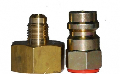 Adaptor butelie freon R134 1 4inchx13mm
