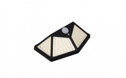 Lampa cu incarcare solara, 100 leduri