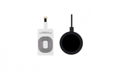Incarcator wireless+receiver iPhone