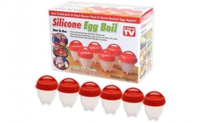Set 6 forme pentru fiert oua