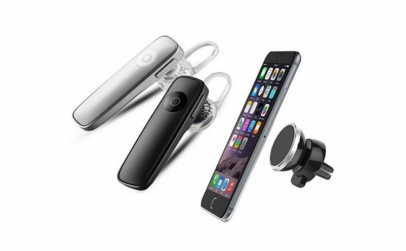 Casca Bluetooth + Suport magnetic
