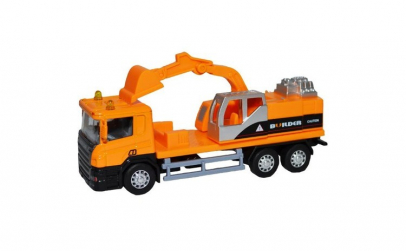 Camion tip Macara,din Metal, 27.5x15