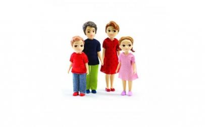 Familia mea   set figurine mari