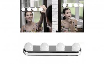 Lampa portabila pentru makeup