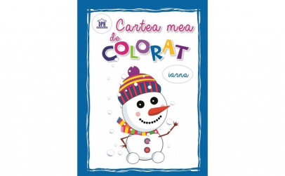 Cartea Mea de Colorat - Iarna