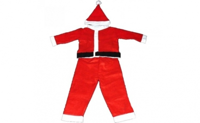 Costum Mos Craciun pentru copii