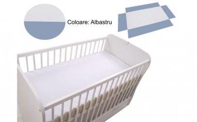 Cearceaf Klups fara elastic Blue 120x60