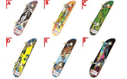 Skateboard 78,5 / 20,5 cm,diverse modele