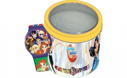 Ceas Junior SUPER HERO GIRLS - Tin Box