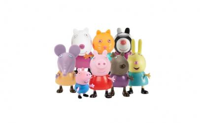 Set figurine Peppa Pig - 9 Personaje