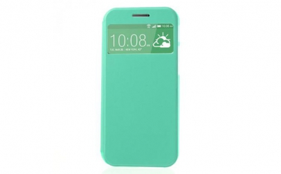 Husa HTC One M8 Flip S-View Green