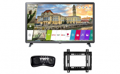 LED Smart LG 80 cm + suport TV + gamepad