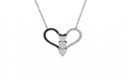 Colier Argint 925 Hearts