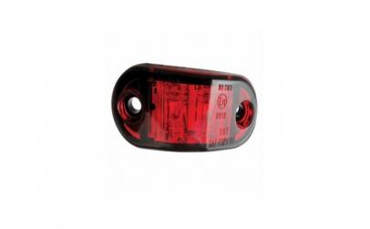 Lampa gabarit 2 LED-uri rosie YP-136-B