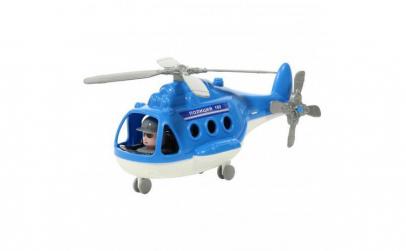 Elicopter politie cu pilot ,29 cm, 3 ani