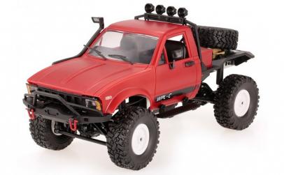 Camion WPL,  C14 1:16 4x4 2.4GHz RTR Cu