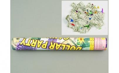 Tun confetti, forma de dolari sau euro