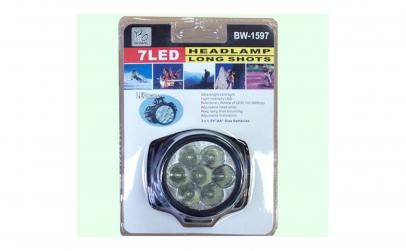Lanterna cu sistem de prindere pe cap
